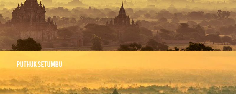 Tempat Wisata Indonesia - Punthuk Setumbu, Magelang vs Bagan, Myanmar