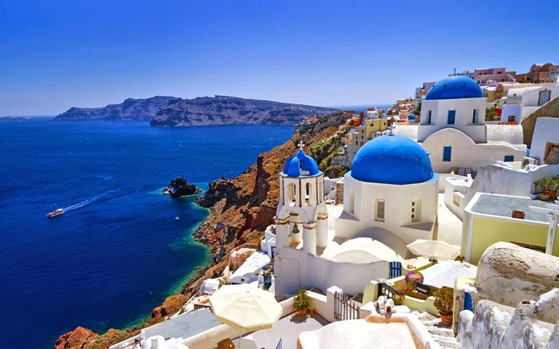 Santorini, Yunani