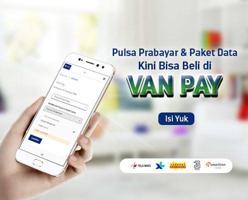 Makin Mudah Beli Pulsa Pakai VAN Pay