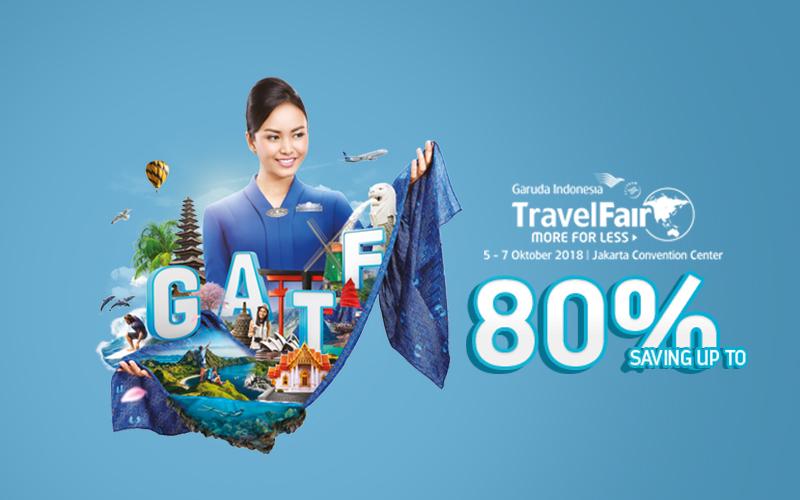 Sapa VAN di Garuda Indonesia Travel Fair