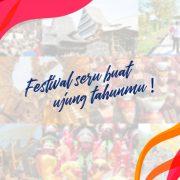 8 Festival Pariwisata Wajib Dikunjungi Tahun 2018