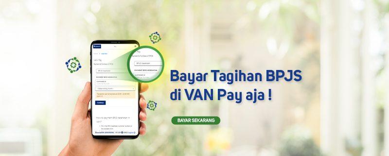 Bayar Tagihan BPJS di VAN Pay Aja