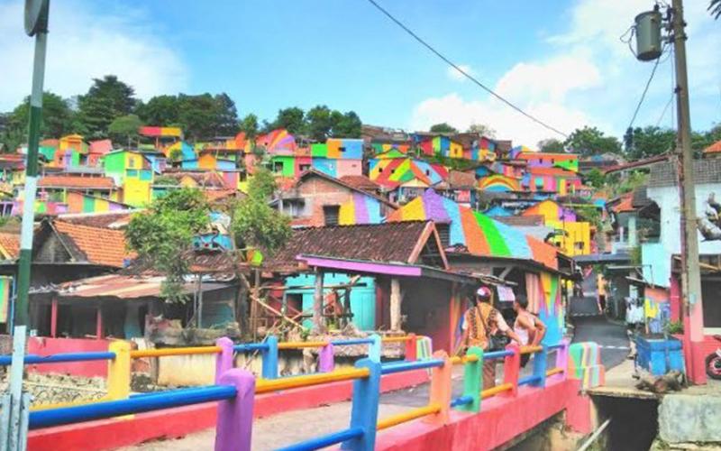 Indonesia Punya! Kampung Pelangi di Jodipan, Malang