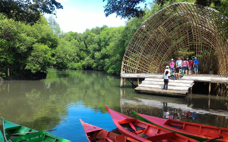 Weekend di Jakarta Juga Bisa Berwisata - Taman Wisata Alam Mangrove