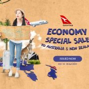 Qantas Economy Special Sale to Australia & New Zealand