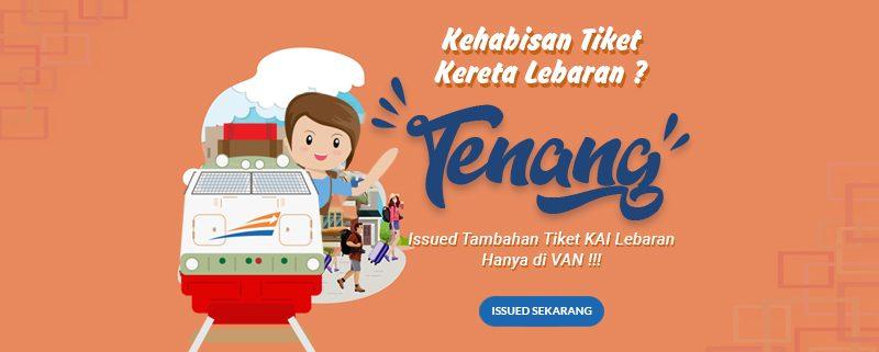 Siap-Siap Issued Tiket Kereta Tambahan Lebaran 2019!